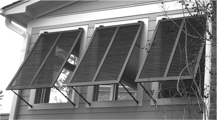 Bahama shutters tropical storm shield Hurricane window shutters exterior