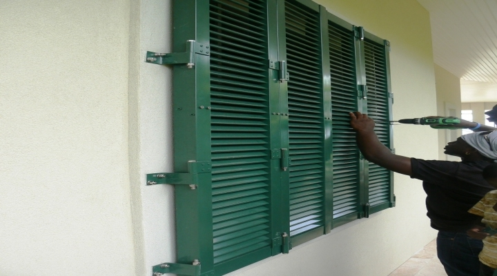 Colonial Hurricane And Decorative Shutters Tropical