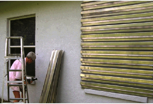 Hurricane Shutters And Panels Tropical Storm Shield